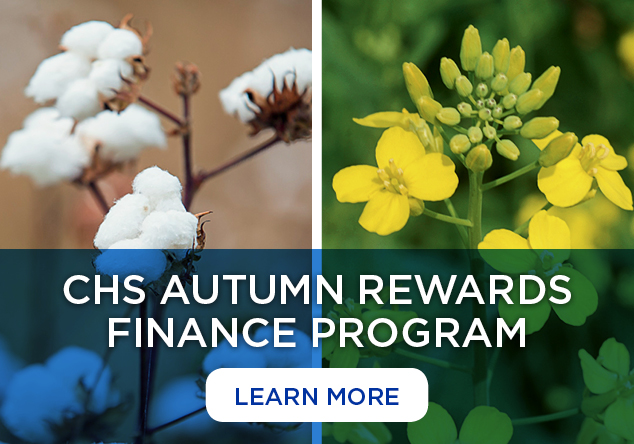 Learn more about CHS Autumn Rewards Finance Program