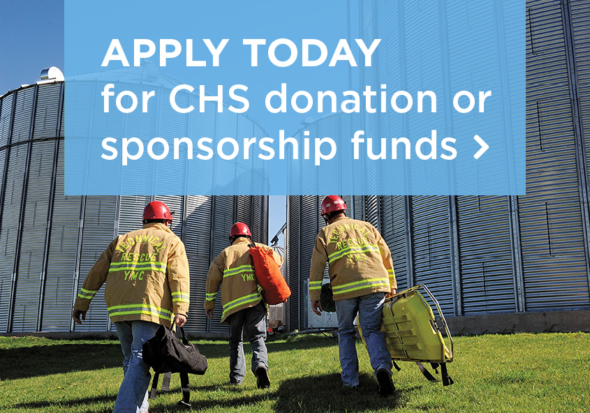 Apply today for CHS donation or sponsorship funds.