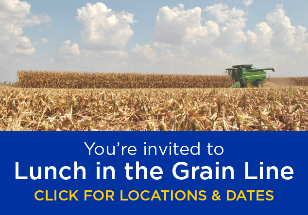 You're invited to Lunch in the Grain Line, click for locations & dates!